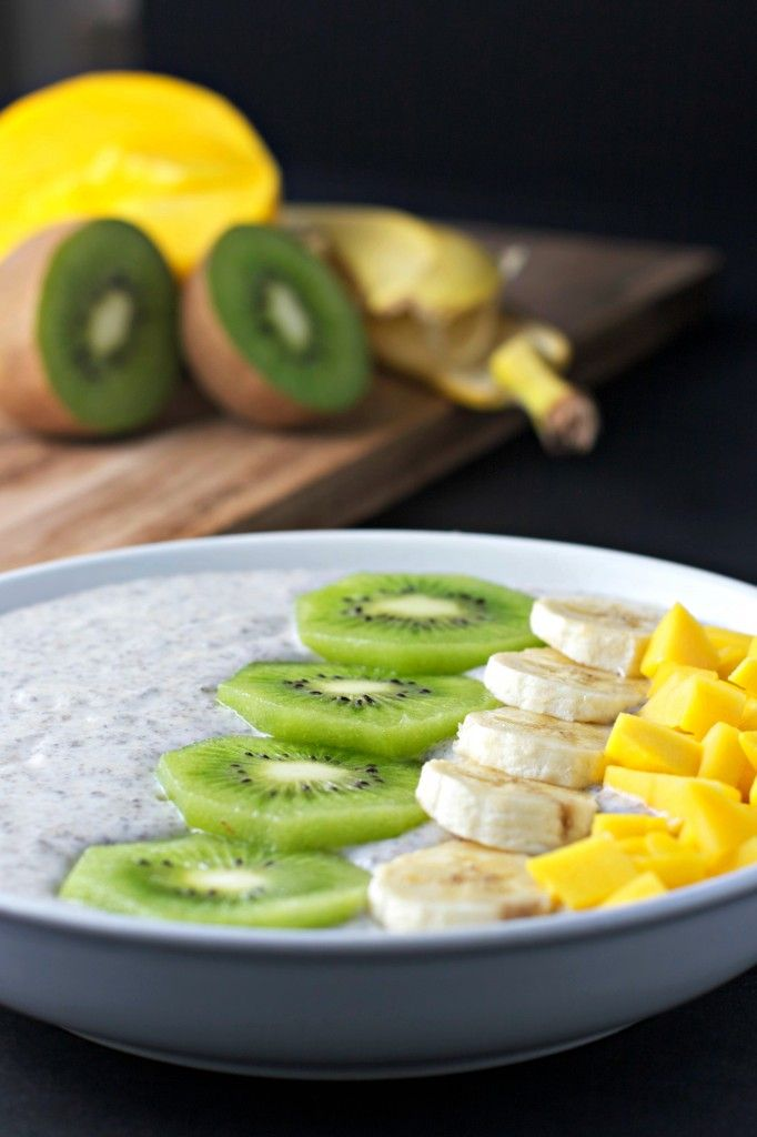 chia seed breakfast bowl ~vegan, gluten free~ - BeginWithin Nutrition