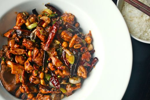 """Real Deal Kung Pao Chicken"""" from Serious Eats. Looks good."""