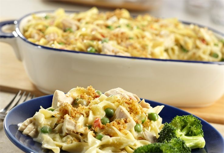 Classic Tuna Noodle Casserole Recipe | Food, Appetizers and Comfort F ...