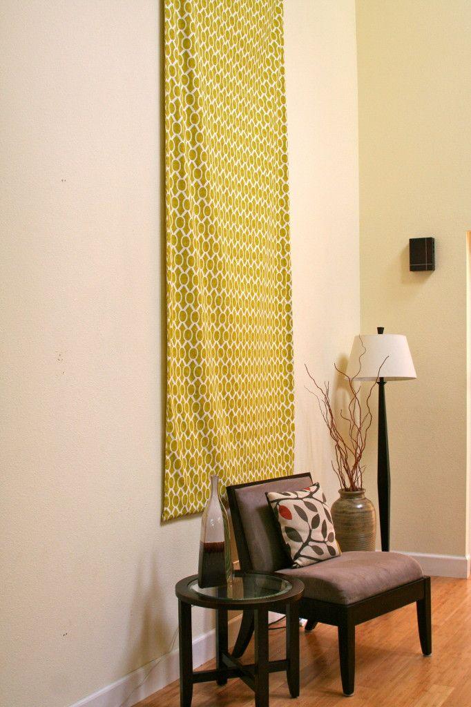 Diy Fabric Wall Art Pinterest : Diy fabric wall hanging art inspiration