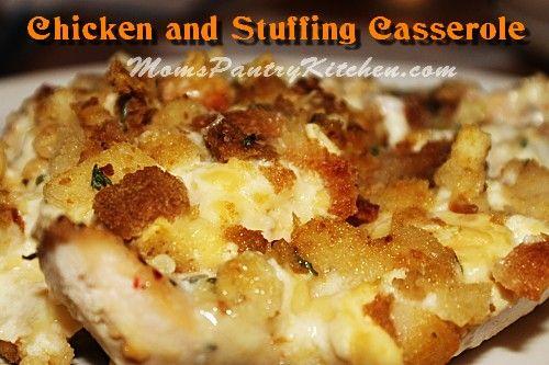 Chicken and Stuffing Casserole | Favorite Recipes | Pinterest