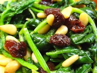 Spinach Catalan | Food | Pinterest