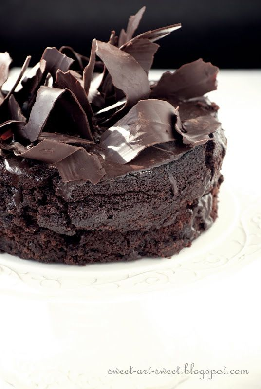Extreme chocolate cake | Let them eat Cake | Pinterest