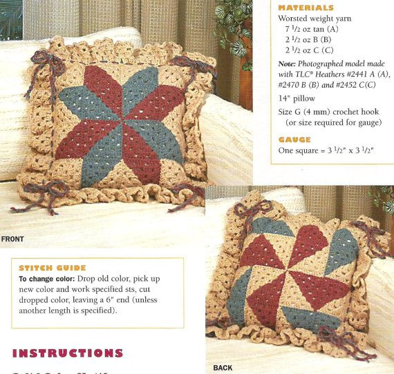 Crochet Quilt Block Patterns : crochet patterns