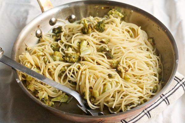 Brown Butter Broccoli Spaghetti | Recipes | Pinterest