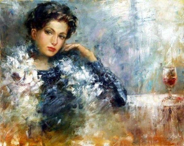 Sugintas Stanislav, Litva   Women in modern painting   Pinterest: pinterest.com/pin/519673244474330589
