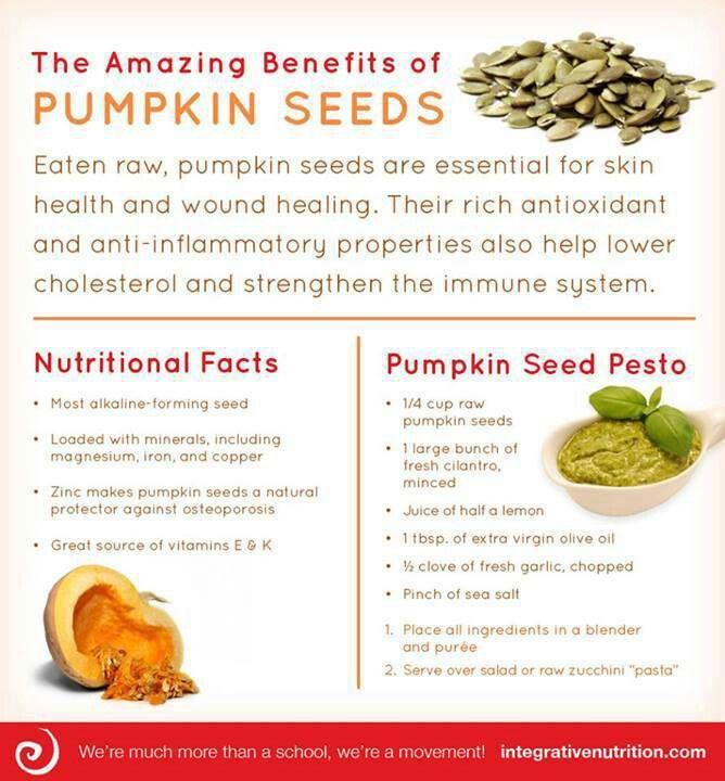 pumpkin seeds uses