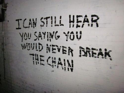 The chain by fleetwood mac lyrics