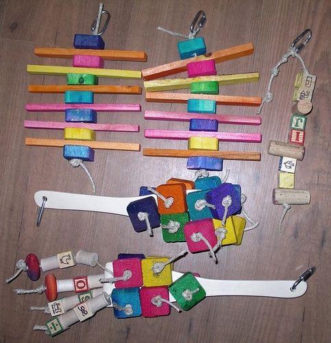 Home Made Bird Toys 115