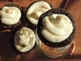 Leave a Happy Plate: Gluten-Free Mexican Hot Chocolate Cupcakes
