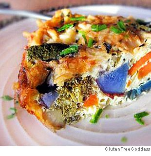 Purple Potato and Carrot Quiche- Quiches filled with roasted ...