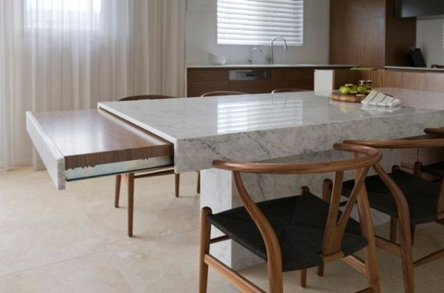 kitchen island extendable table home style