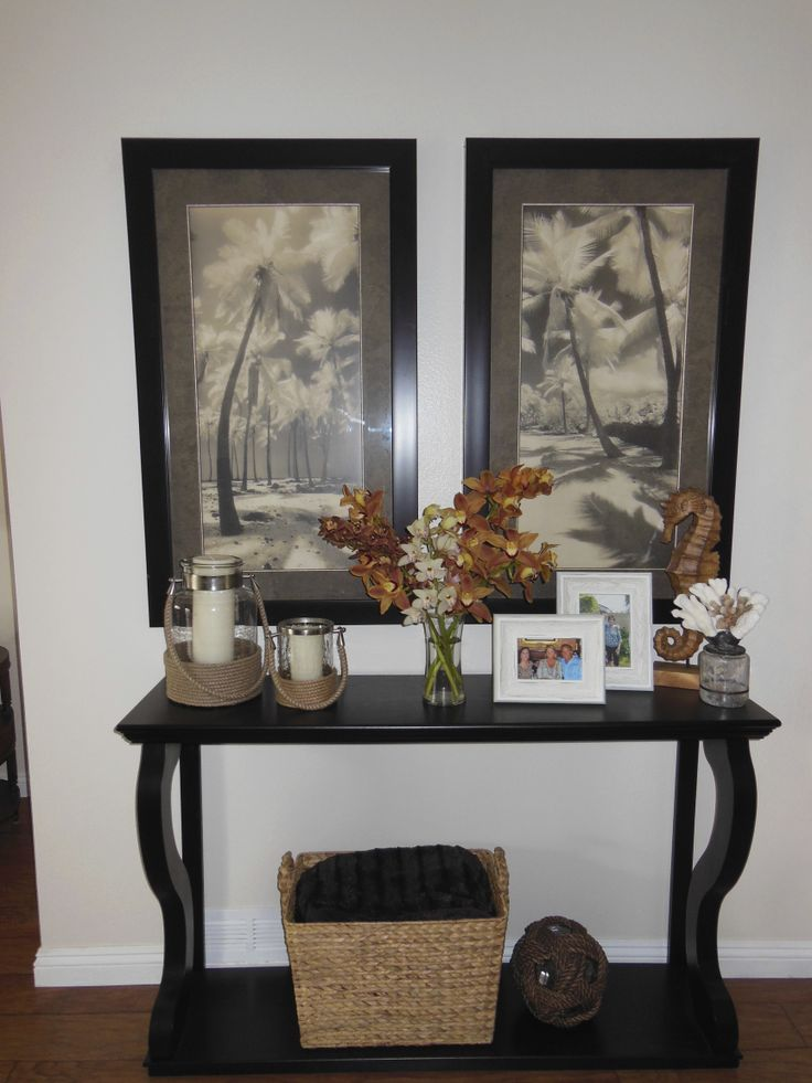 entry table home decor pinterest