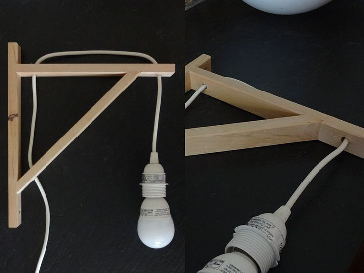 IKEA Hackers - clever wall lamp | Ikea hack