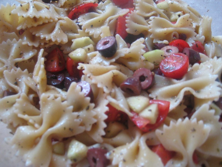 Greek Pasta Salad | Foods - Cold Salads/Pasta | Pinterest