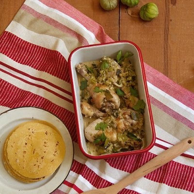 Tomatillo Chicken | Feed Me - Main Dishes | Pinterest