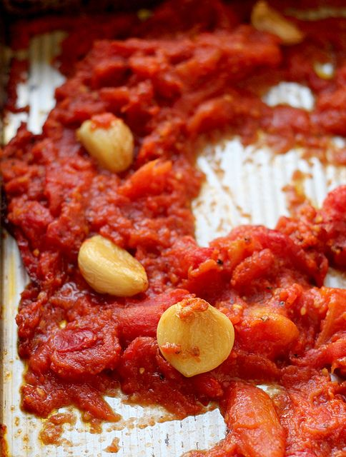 Bucatini with Butter-Roasted Tomato Sauce | Recipe