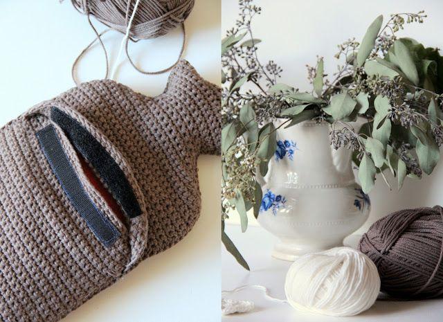 Crochet Hot Water Bottle Cover Pattern Crochet things I ...