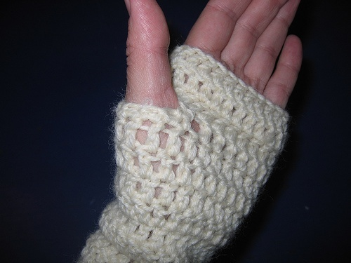 Crochet Patterns Arm Warmers : Crochet-To-Go Arm Warmer Pattern Crochet Pinterest