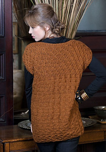 knit tunic (free pattern)