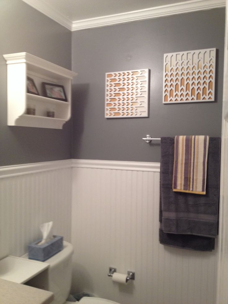 Gray and yellow bathroom pinterest crafts for Gray and yellow bathroom ideas