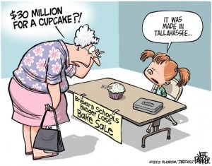 Florida school fundraising humor
