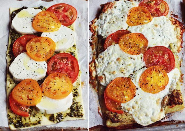 Tomato tart | Food! | Pinterest