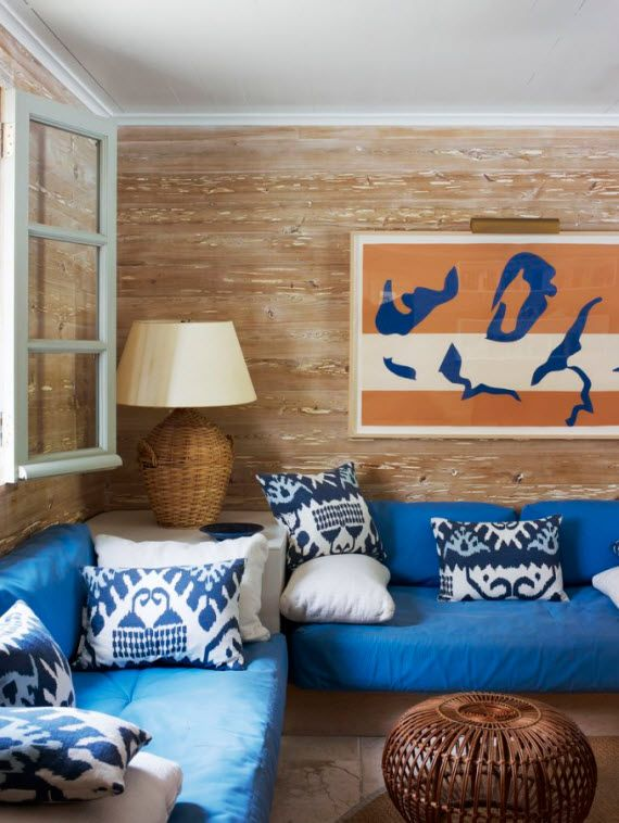 Tom Scheerer Decorates - family room