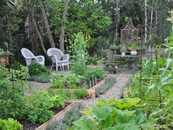 Perfect Backyard Garden : Creating Perfect Garden Designs to Beautify Backyard Landscaping Ideas