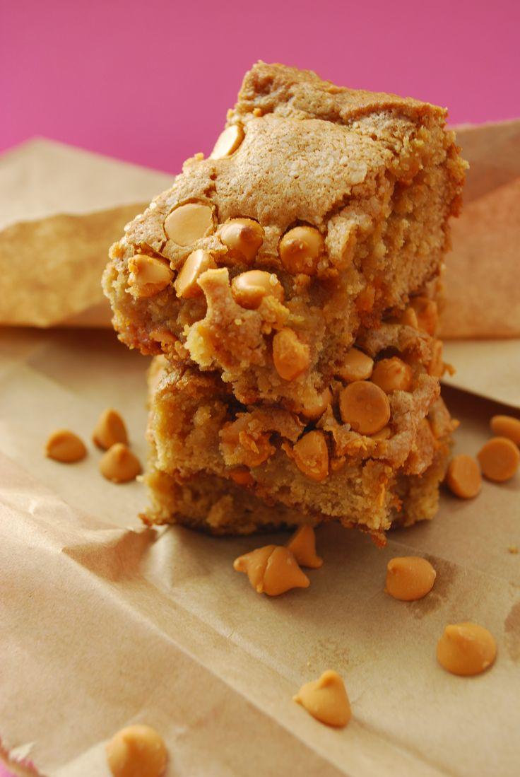 Salted Butterscotch Blondies | Treats | Pinterest