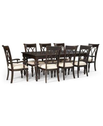 Bradford 9 Piece Dining Room Furniture Set