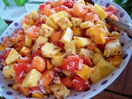 Tropical Fruit Salad | FOOD AND DRINK | Pinterest