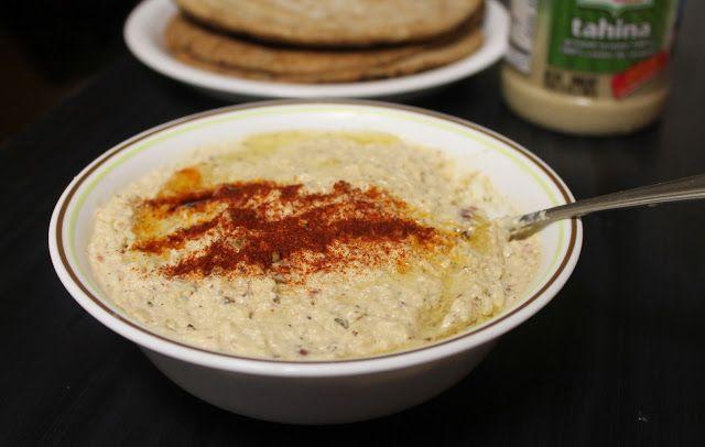 Roasted Cauliflower Hummus | Snacks | Pinterest