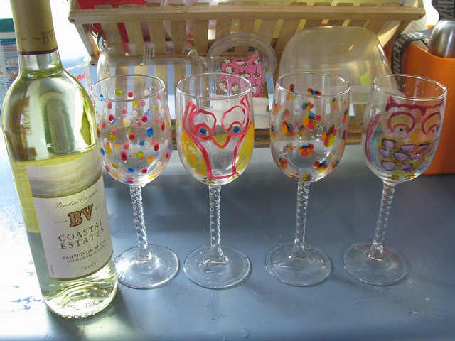 Wine Glass Decorating Wine Glass Decorations Pinterest