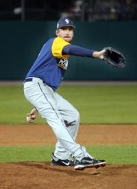York Revolution reliever James Houser had open-heart surgery last May to repair an enlarged aorta. He missed the entire 2011 baseball season.