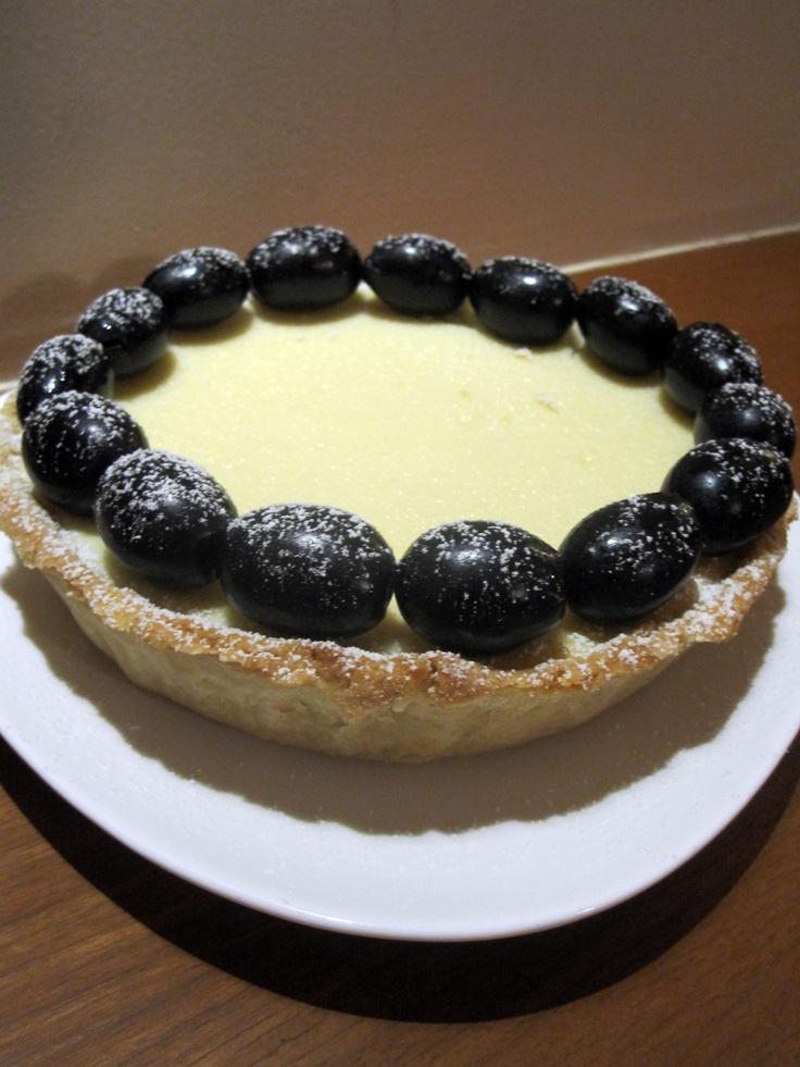 Lemon and Homemade Ricotta Tart. | pie | Pinterest