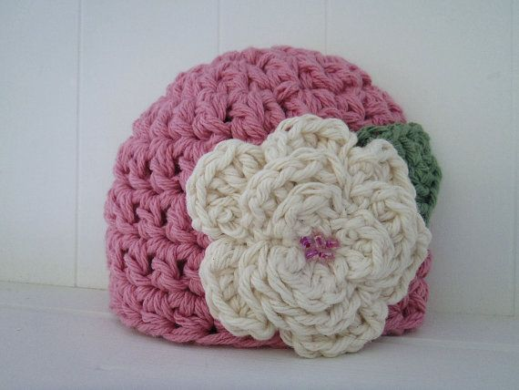 Free Crochet Chunky Newborn Hat Pattern : Crochet Pattern - Chunky Basic Beanie Hat (Newborn to ...