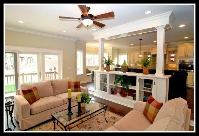 Open Floor Plan Dream Home Ideas Pinterest