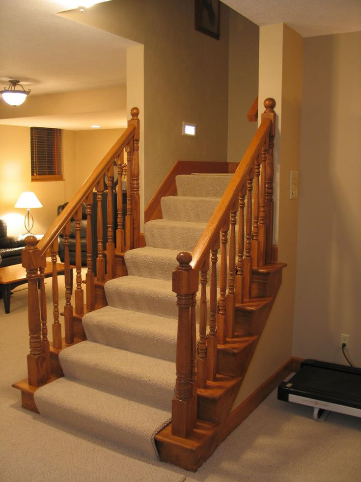 Pin by gail froehlich rushing on basement pinterest - Basement stairs ideas ...