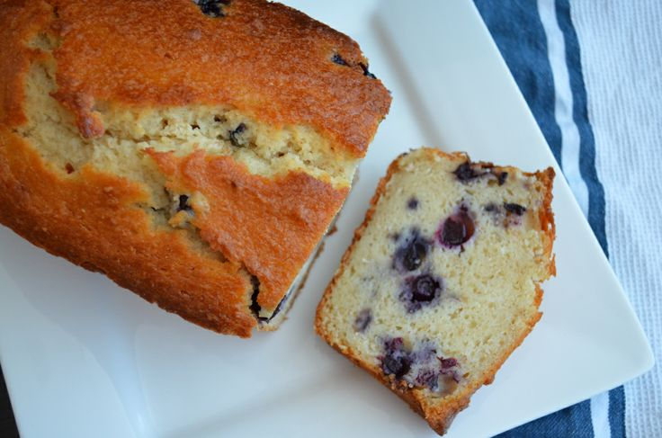 LEMON BLUEBERRY RICOTTA POUND CAKE | cakes | Pinterest