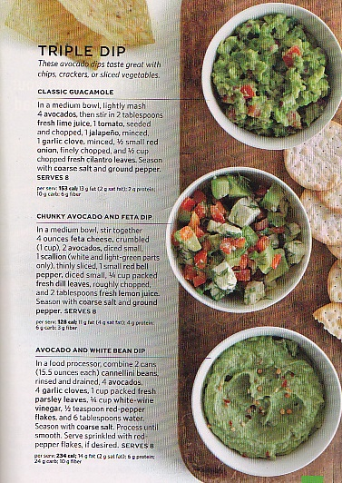 Avocado Dip Three Ways: Classic Guacamole, Chunky Avocado and Feta Dip ...