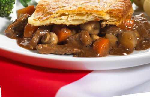 Steak and ale pie | In the kitchen: savory pies | Pinterest