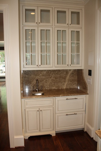 Built In Wet Bar Love These Cabinets For The Home