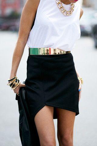 złoty pasek, pasek ze złotą klamrą, modne złote paski, street style, w jej stylu, moda