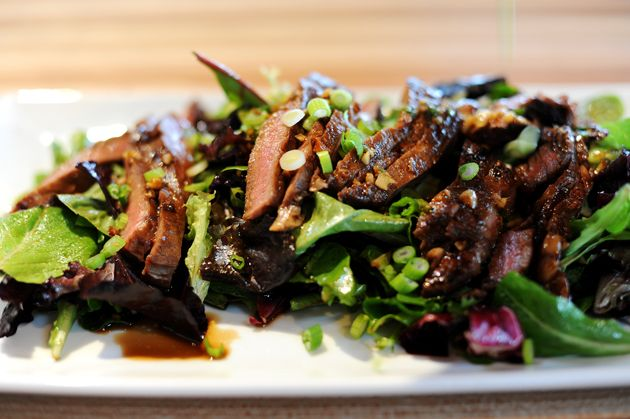 Ginger Steak Salad... Oh, I love this one. Best use of a leftover ...