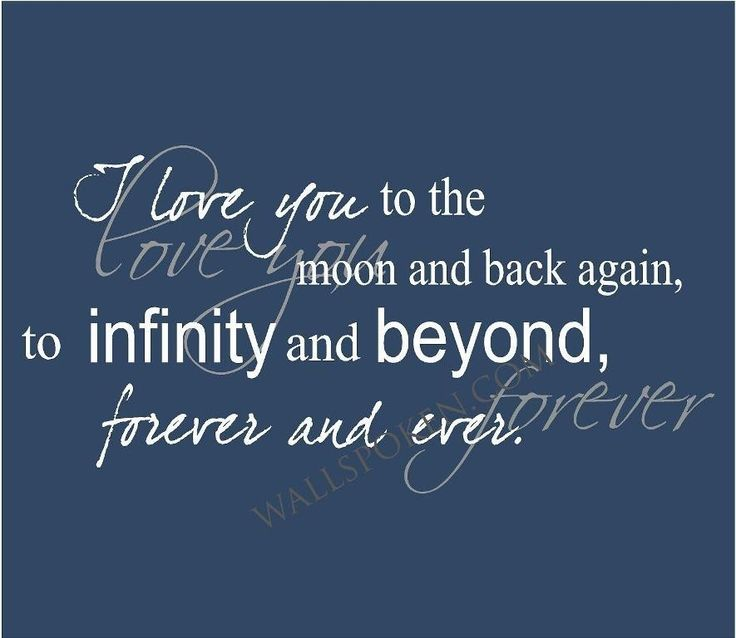 I Love You To The Moon And Back Quotes. QuotesGram