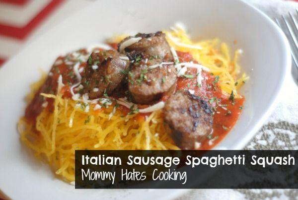 Italian Sausage Spaghetti Squash | Recipe