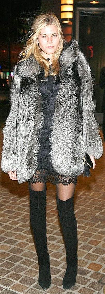 #High #Boots #Inspiration. How To Wear  #