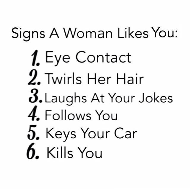 10 Signs That A Girl Likes You