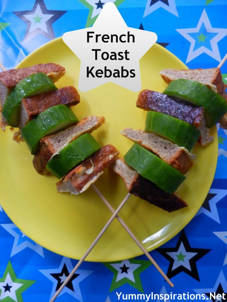 French Toast Kebabs | dinner & other yummy ideas | Pinterest